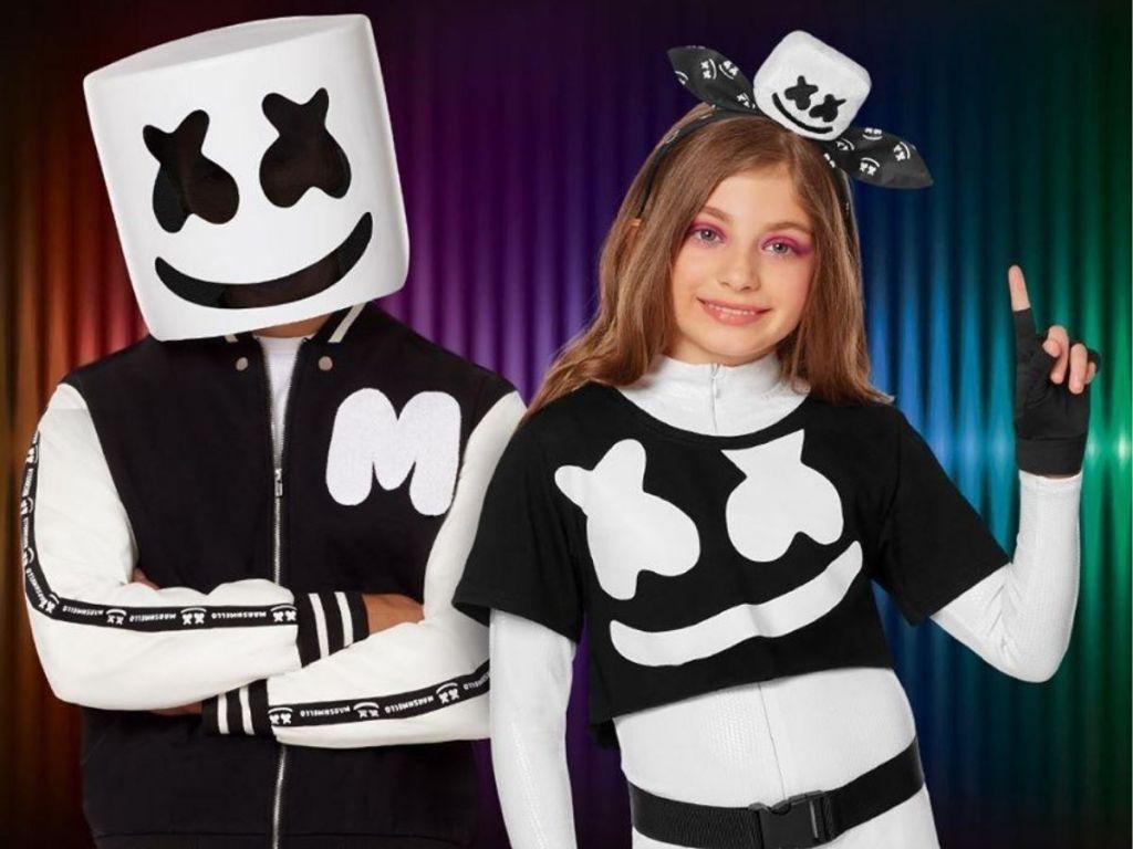 Kids Marshmallow Costumes