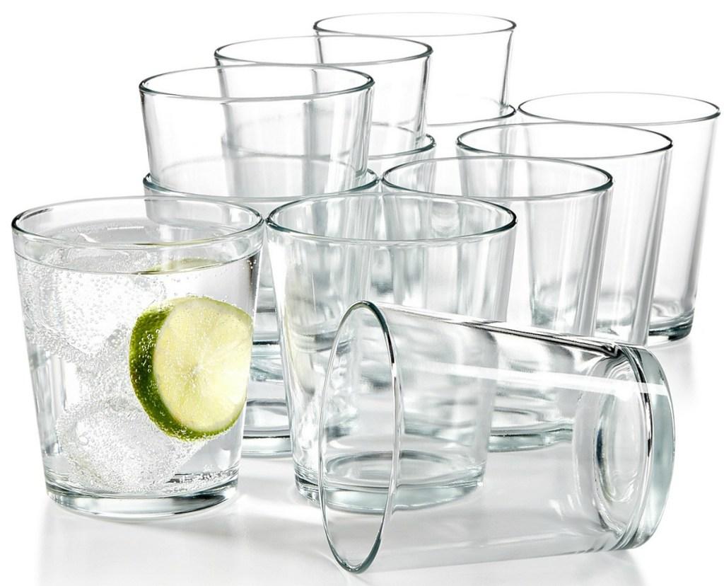 A dozen glasses