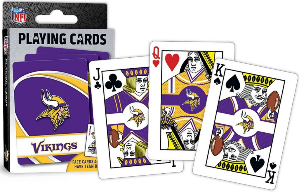 MasterPieces NFL Minnesota Vikings Playing Cards