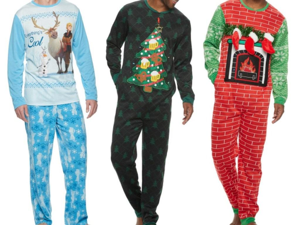 stock images of people wearing pajamas