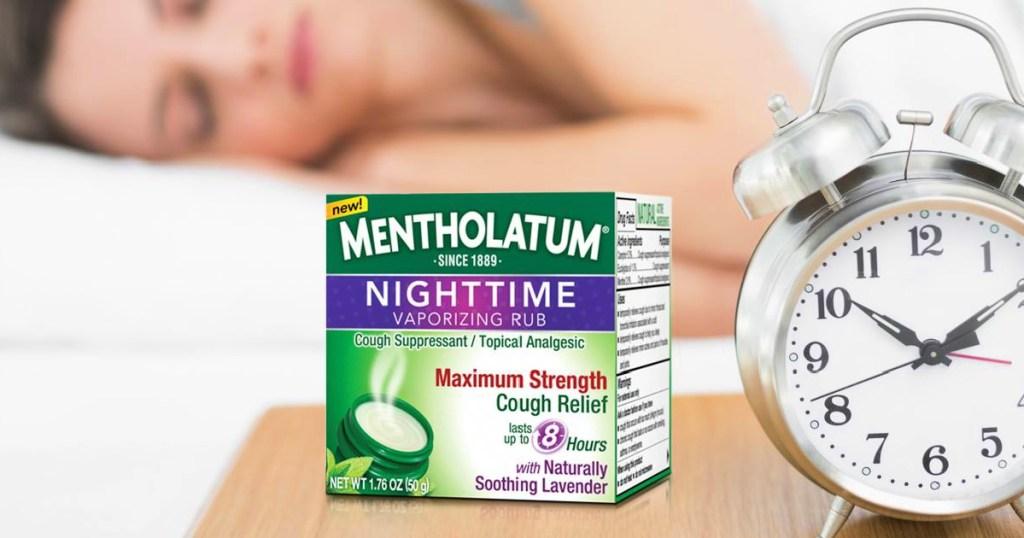 Mentholatum Nighttime Vaporizing Rub w/ soothing Lavender Essence