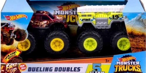 Hot Wheels Monster Trucks Dueling Doubles 2-Pack Just $9.19 on Walmart.com (Regularly $27)