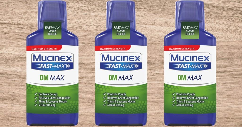 Mucinex Fast-Max DM Max Strength 6-oz Cough Suppressant Liquid