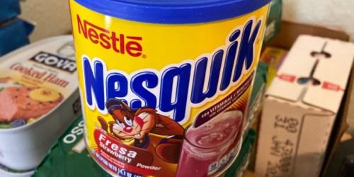 Nesquik Strawberry Powder 14oz Only $2.83 Shipped on Amazon