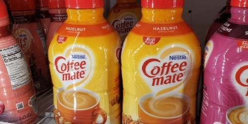 Nestle Coffee-Mate Creamers 50.7oz Bottles w/ Pumps 2-Pack Only $15 Shipped on Amazon (Regularly $26)