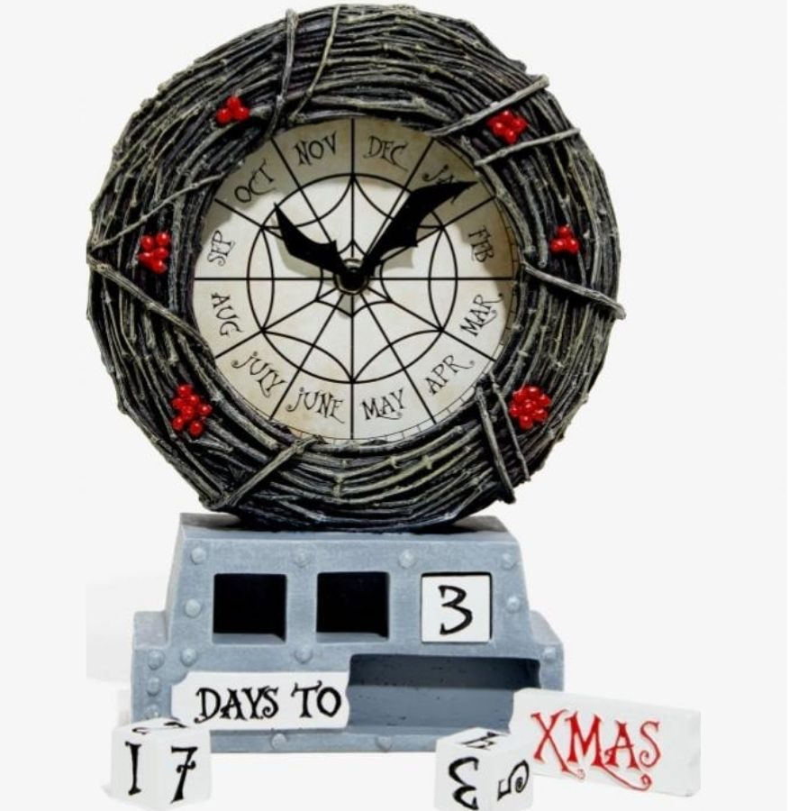 nightmare before christmas table clock
