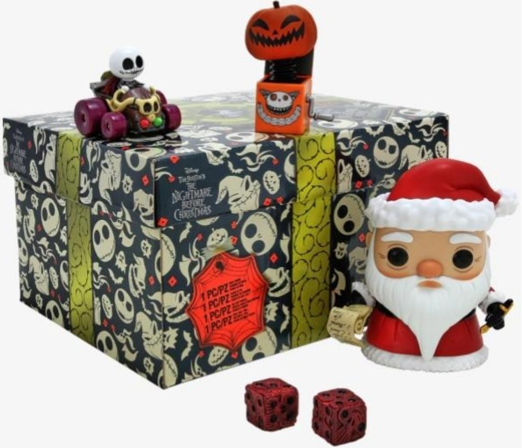 Nightmare Before Christmas Funko Pop Toy Gift Box Set
