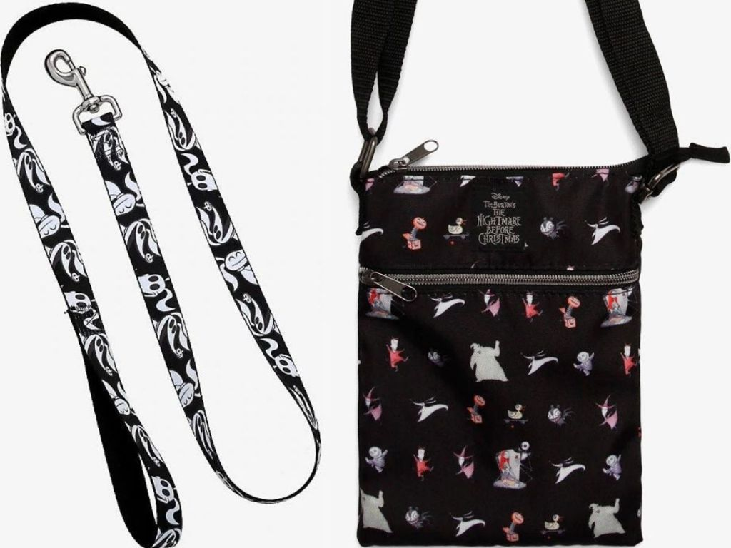 Nightmare Before Christmas Dog Leash and Purse