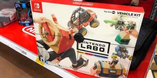 Nintendo LABO Kit Bundle Only $26.99 Shipped on Costco.com