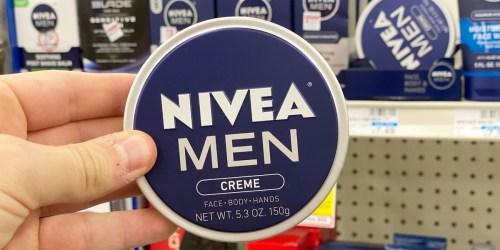 NIVEA Men's Body Creme Tins Just $1.99 Each After CVS Rewards & Cash Back