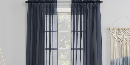 Curtains from $4 Shipped for Kohl's Cardholders | Sheer Panels, Room Darkening Curtains, & More