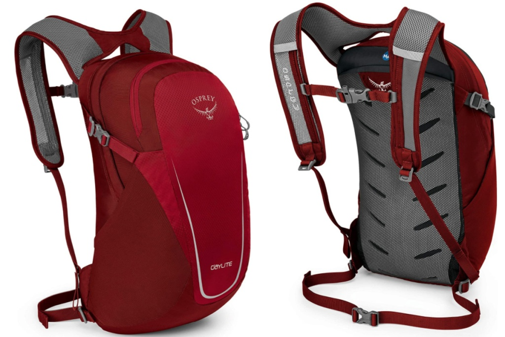 front and side facing view of Osprey Daylite Daypack