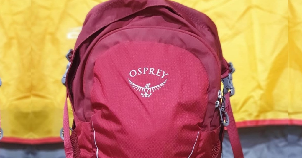Osprey Daylite Daypack in Real Red