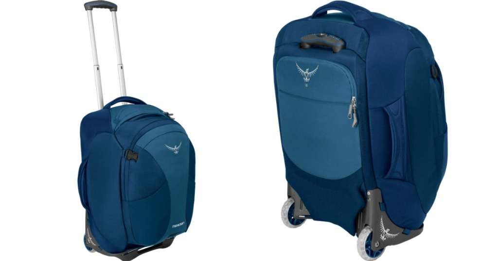 front and back view of an Osprey bag
