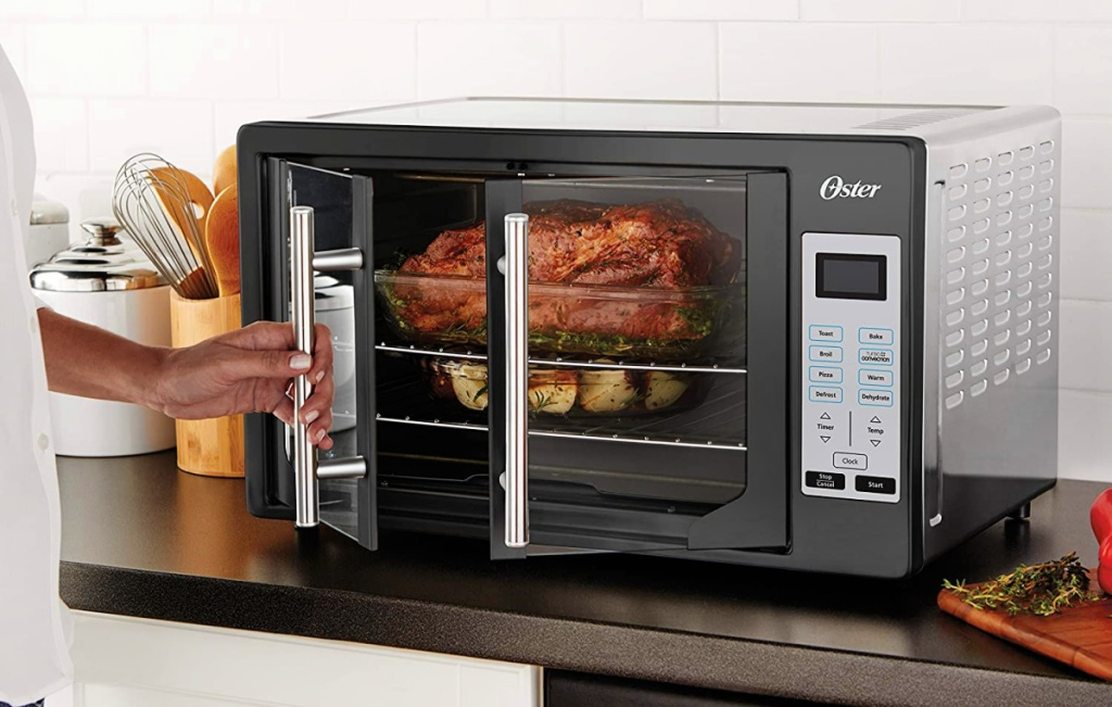 roast chicken in an Oster French Convection Countertop & Toaster Oven