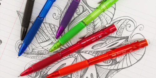 Pentel Twist-Erase Mechanical Pencils 4-Pack Just $3.97 Shipped on Amazon (Regularly $7)