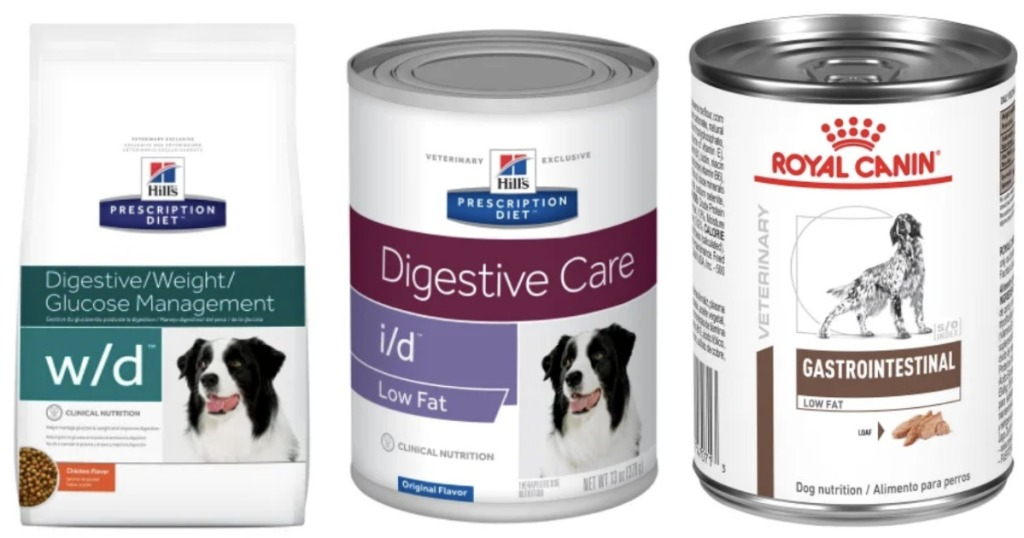 Petco diet foods in bag and cans
