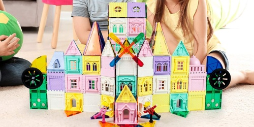 PicassoTiles 200-Piece 3D Magnetic Building Set Only $54.99 on Zulily