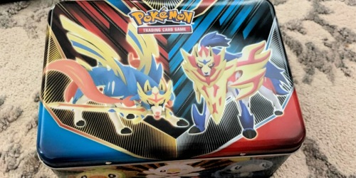 Pokémon Trading Card Game Collector's Chest Only $15 | Includes Booster Packs, Stickers & More