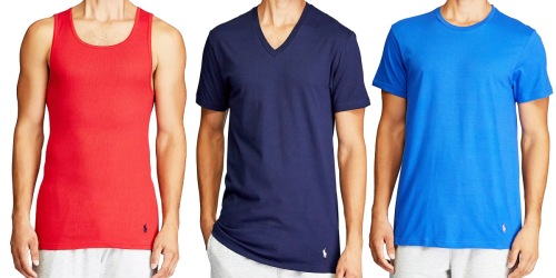 Polo Ralph Lauren Men's Shirts, Tank Tops, & Boxers 3-Packs Only $19 on Macy's (Regularly $43)