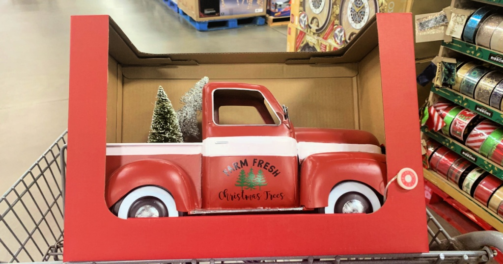 Pre-Lit Vintage Holiday Truck in Sam's Club