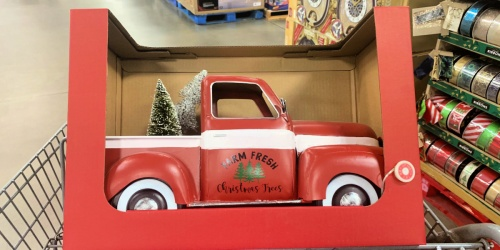 Pre-Lit Vintage Holiday Trucks, Campers & More Available Now at Sam's Club