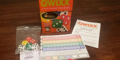 Qwixx Fast Family Dice Game Just $7.95 on Amazon | Over 900 5-Star Reviews