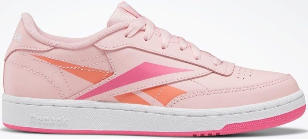girls leather sneakers