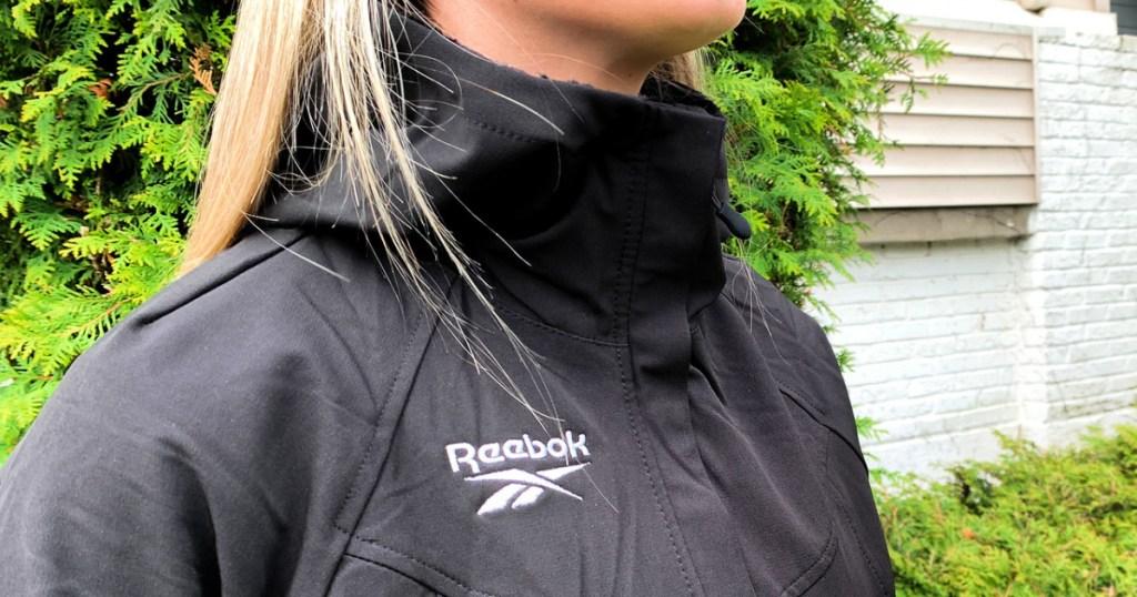Reebok Women's Fur Lined Jacket on teenager