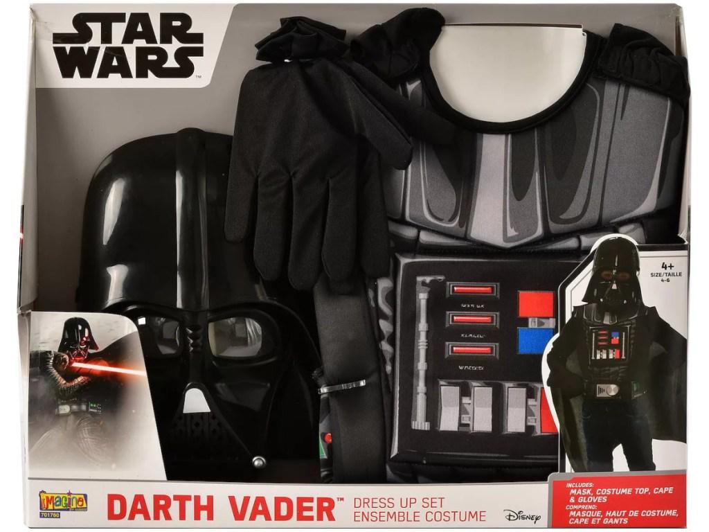 kids Star Wars costume in package