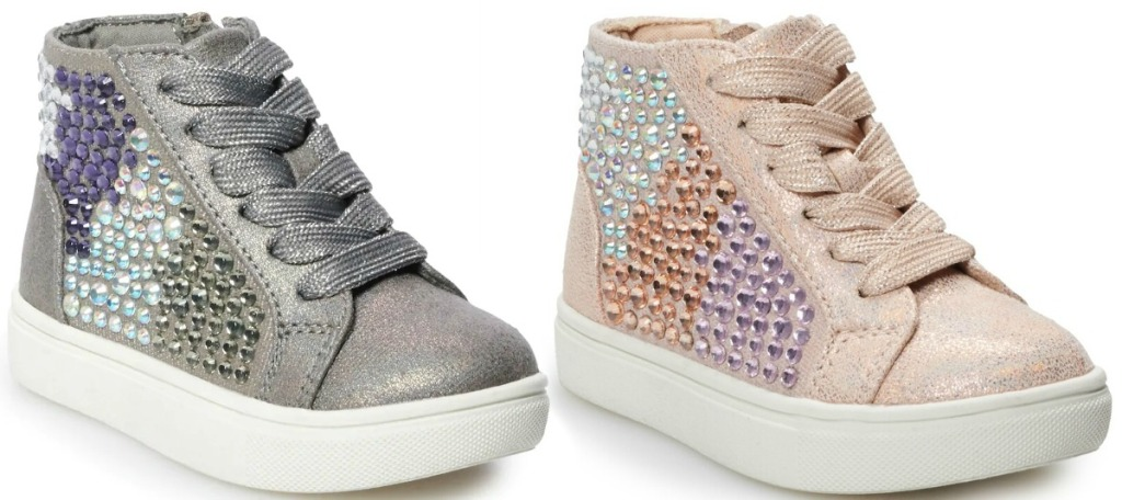 Toddler's High-Top Sneakers