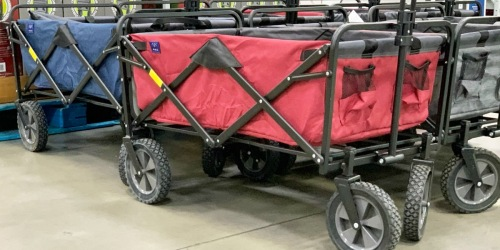 This Folding Wagon w/ Table, Cup & Phone Holders is Just $48.98 Shipped for Sam's Club Members
