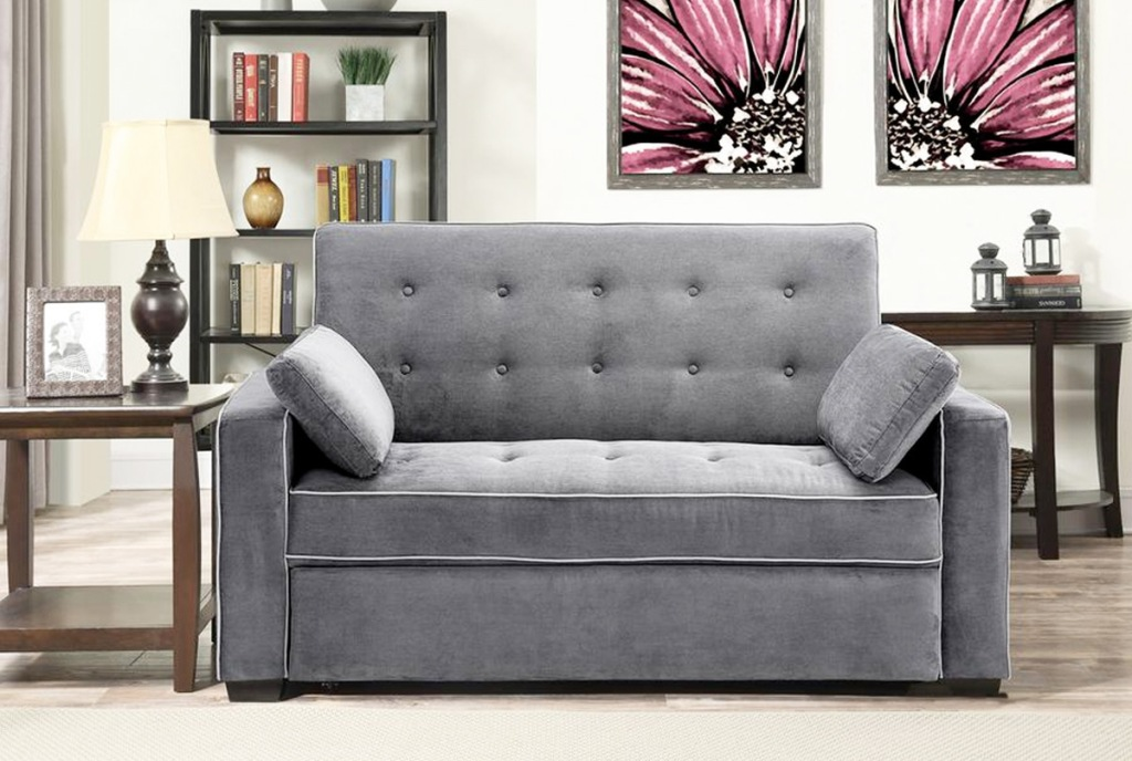 grey sofa couch in living room