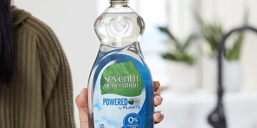 Seventh Generation Dish Soap 6-Pack Only $13.45 Shipped on Amazon | Just $2.24 Per Bottle