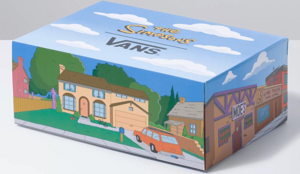 Simpsons Van shoe box