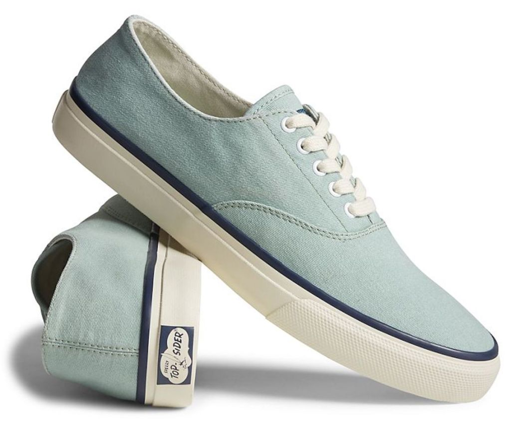 seafoam colored Sperry Cloud CVO Deck Sneakers