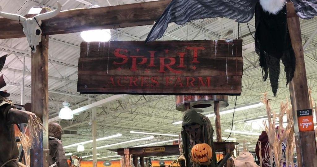 halloween decorations in-store