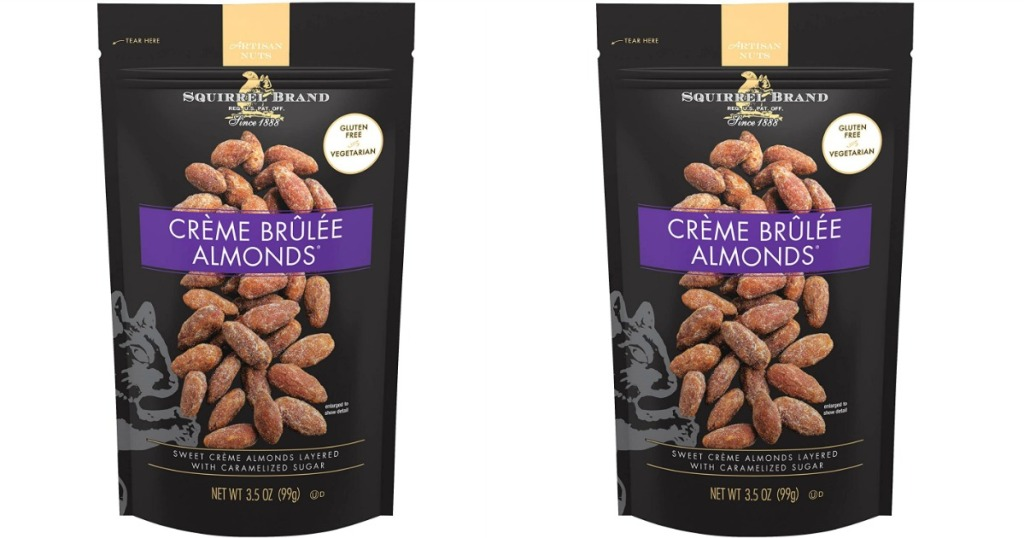 Squirrel Brand Creme Brûlée Almonds