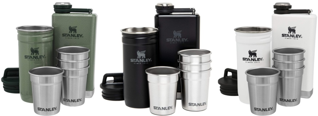 Stanley Adventure Shot Glass And Flask Set