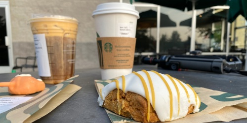 Starbucks Pumpkin Spice Latte & Pumpkin Cream Cold Brew NOW Available