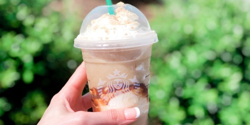 20% Off Starbucks Iced or Blended Beverages at Target