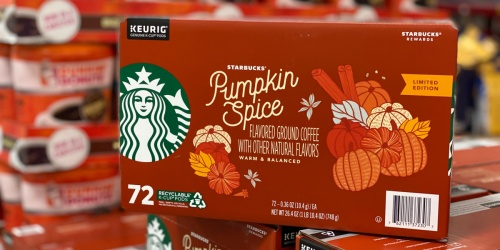 Starbucks Pumpkin Spice K-Cups Available at Sam's Club | In-Store & Online