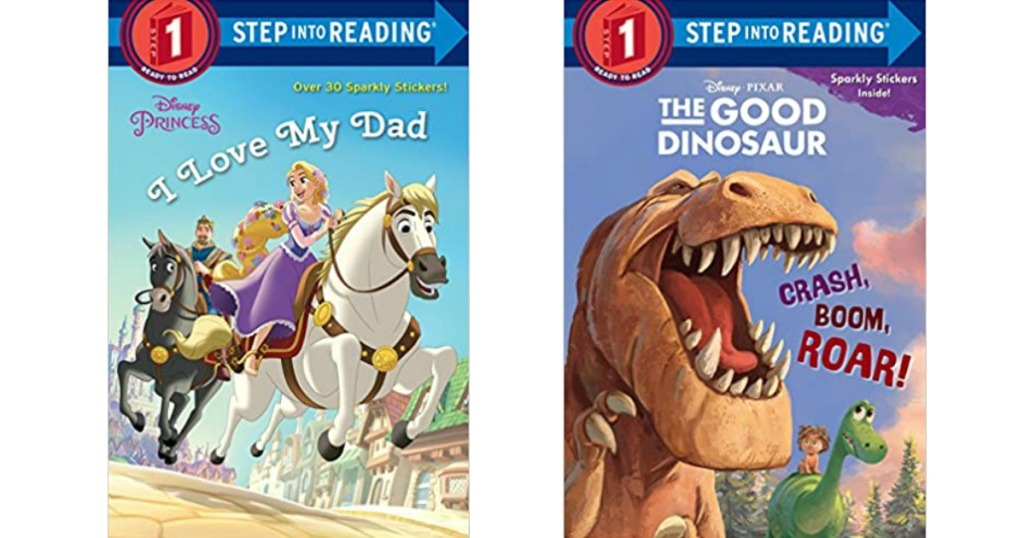 two Step into Reading books