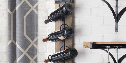 Wall Mounted Wine Racks from $29.99 Shipped on HomeDepot.com (Regularly $69+)