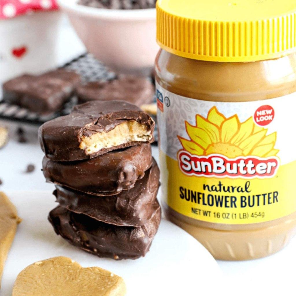 Sunbutter in cookies