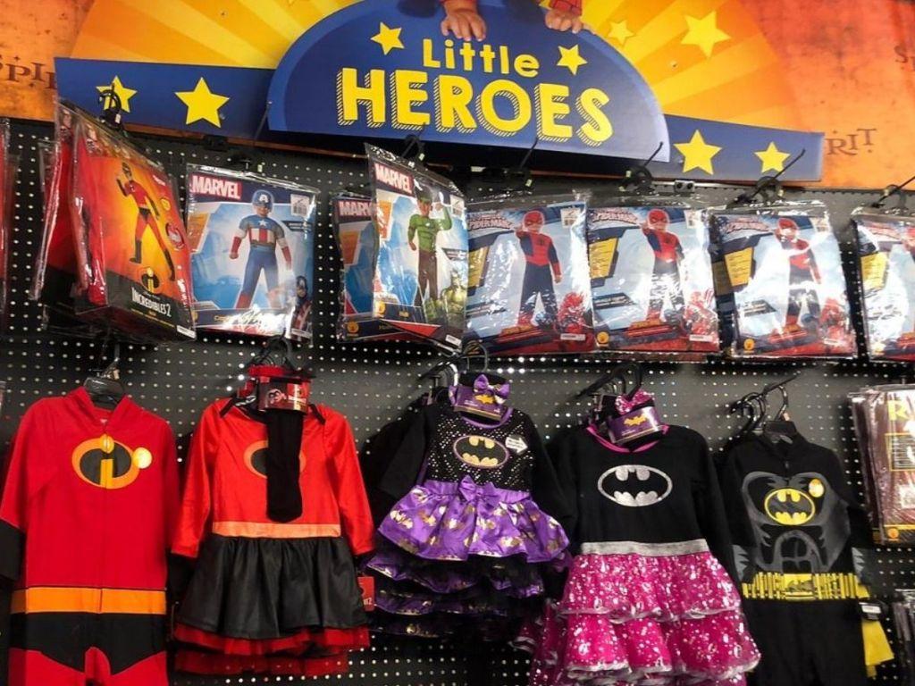 kid's super hero costumes
