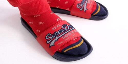 Superdry Men's Slides Just $12.48 Shipped (Regularly $25)