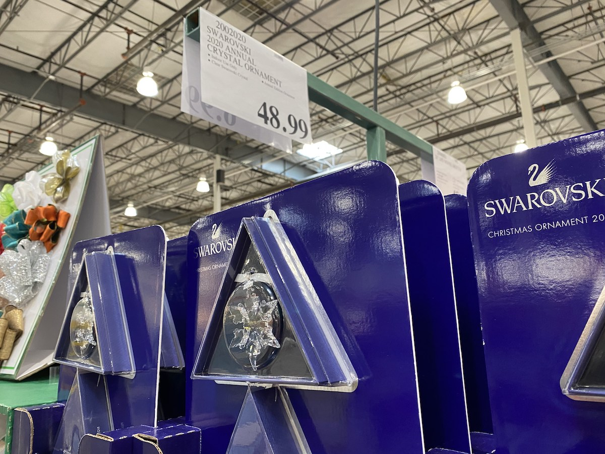 2020 Swarworski Christmas Ornament SWAROVSKI 2020 Annual Snowflake Ornament Only $48.99 at Costco