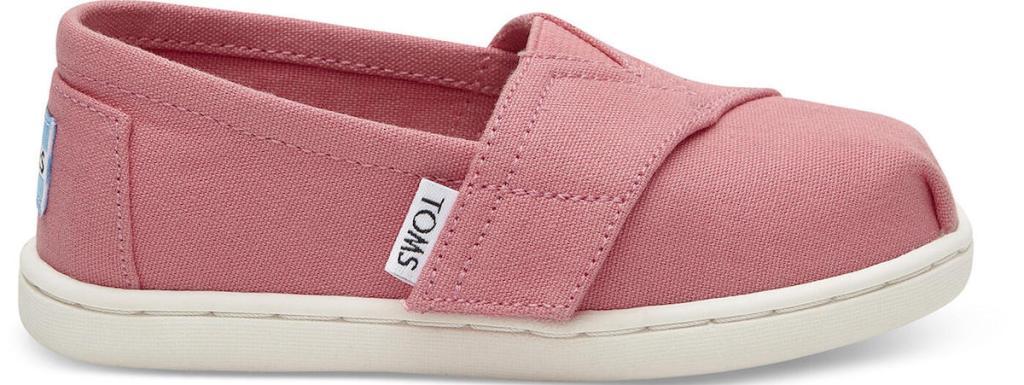 pink and tan kids shoe