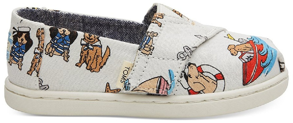 tiny toms shoes with dogs and puppies